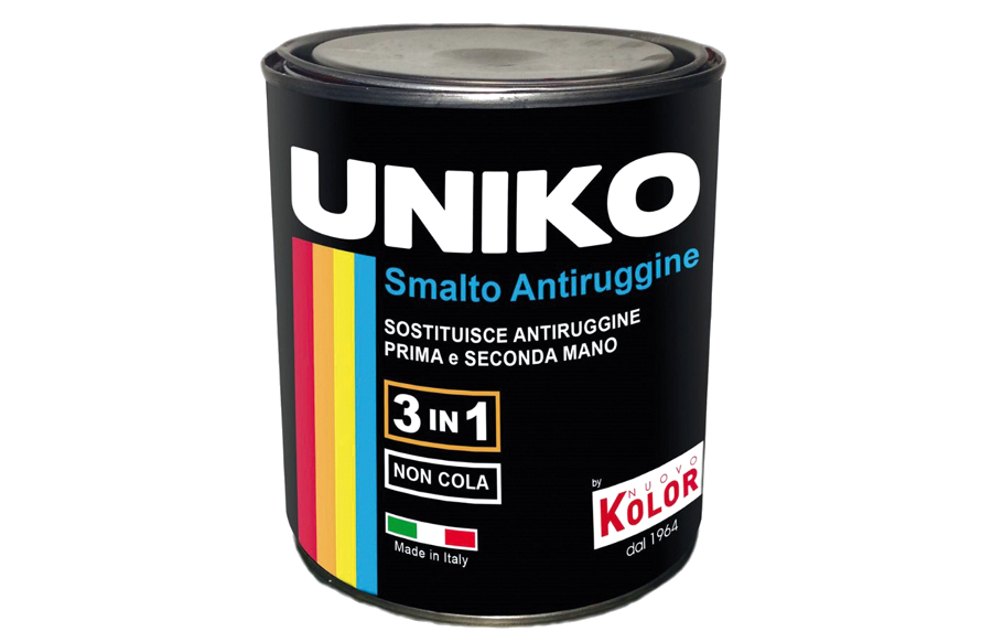 Uniko: smalto antiruggine di NuovoKolor